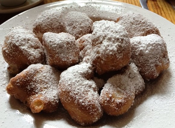 Beignets at Rue Cler in Durham, NC Triangle Dining