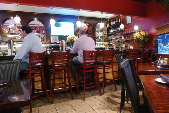 Bar at Sushi O Bistro, Raleigh- NC Triangle Dining