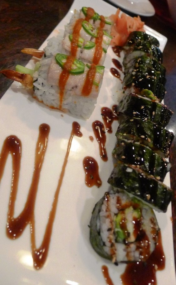 Sushi rolls at Sushi O Bistro, Raleigh- NC Triangle Dining