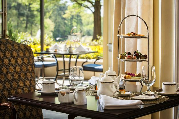 Afternoon tea at the Fairview Dining Room, Durham- Picture Courtesy of Washington Duke Inn