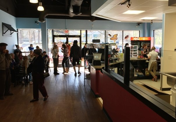 Interior of Duck Donuts in Cary- NC Triangle Dining