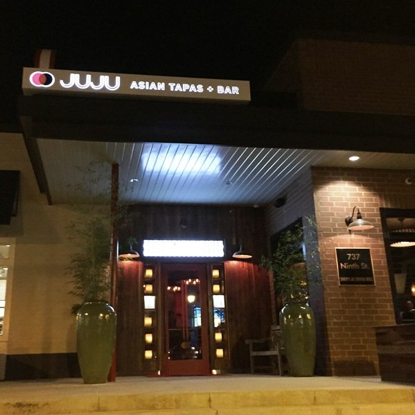 Front of Juju Asian Tapas in Durham- NC Triangle Dining