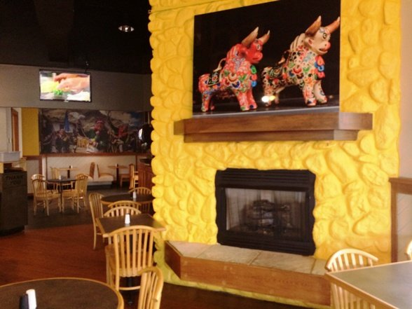 Interior of Mami Nora's-Alpaca Peruvian Chicken in Morrisville, NC Triangle