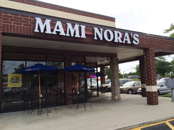 Front of Mami Nora's-Alpaca Peruvian Chicken in Morrisville, NC Triangle