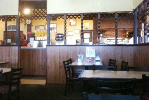 Counter at Frank's Pizza, Raleigh- NC Triangle Dining