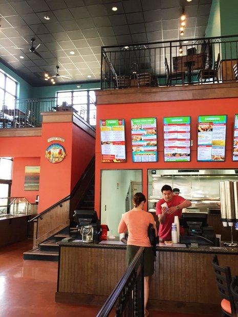 Order counter at Guacamaya in Cary, NC Triangle Dining