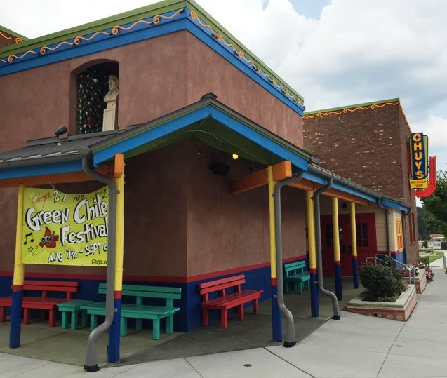 Southwestern style building for Chuy's in Raleigh- NC Triangle Dining
