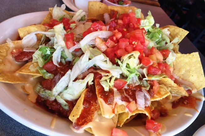 Nachos at Sammy's Tap & Grill in Raleigh- NC Triangle Dining