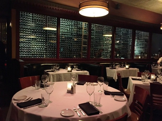 Impressive wine room at Sullivan's Steakhouse in Raleigh- NC Triangle Dining