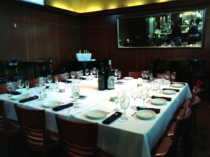 Private room at Sullivan's Steakhouse in Raleigh- NC Triangle Dining