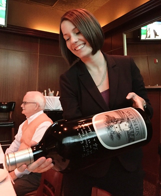 Sommelier Katie at Sullivan's Steakhouse in Raleigh- NC Triangle Dining