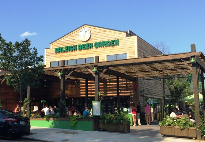 Raleigh Beer Garden in Raleigh- NC Triangle Dining