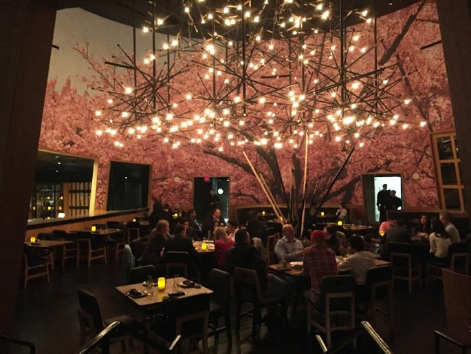Back dining room at Kumi at Mandalay Bay in Las Vegas- NC Triangle Dining