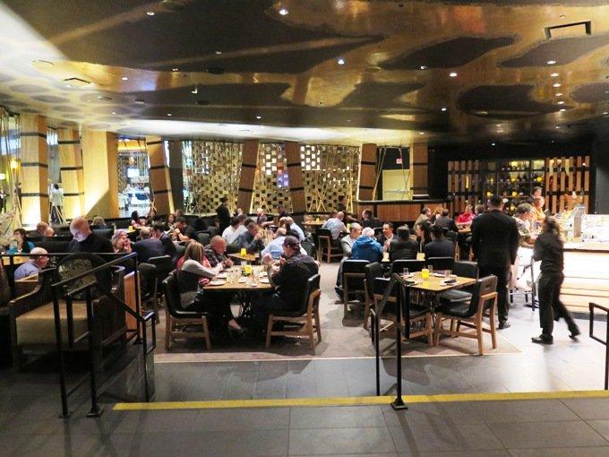 Dining room at Kumi at Mandalay Bay in Las Vegas- NC Triangle Dining