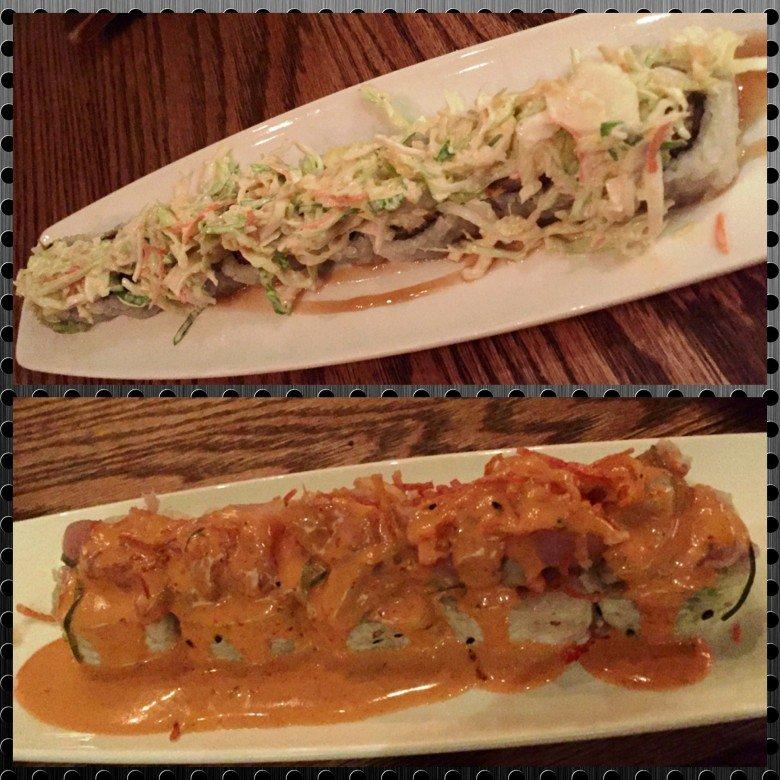 Pork belly and Hot Mess rolls at Kumi at Mandalay Bay in Las Vegas- NC Triangle Dining