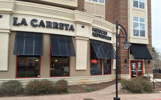 Front of La Carreta, Raleigh- NC Triangle Dining