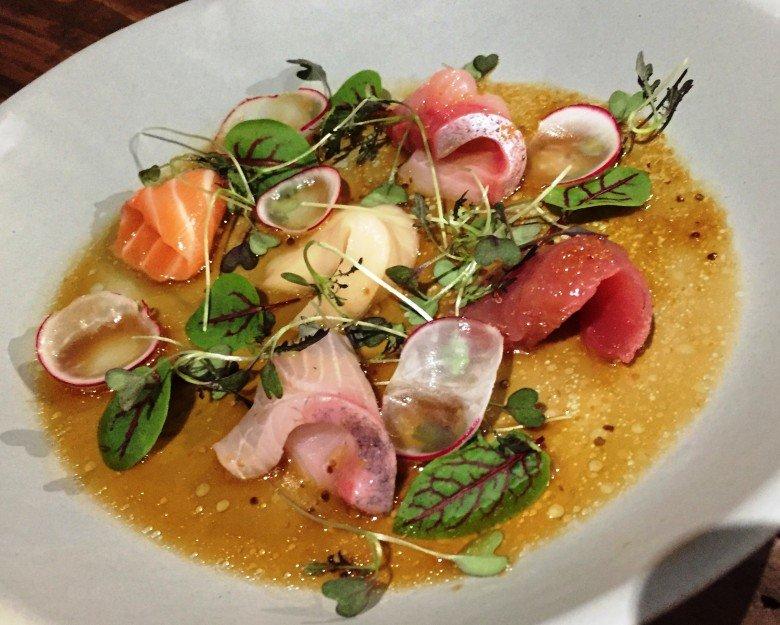 Omakase crudo at M Sushi, Durham- NC Triangle Dining