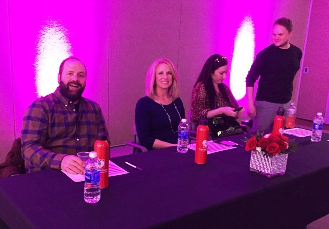 Sam, Debra and Josh, dessert judges at the 2016 Toast to the Triangle in Raleigh- NC Triangle Dining