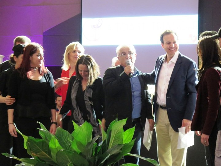 The Saleh family and Neomonde at the 2016 Toast to the Triangle in Raleigh- NC Triangle Dining