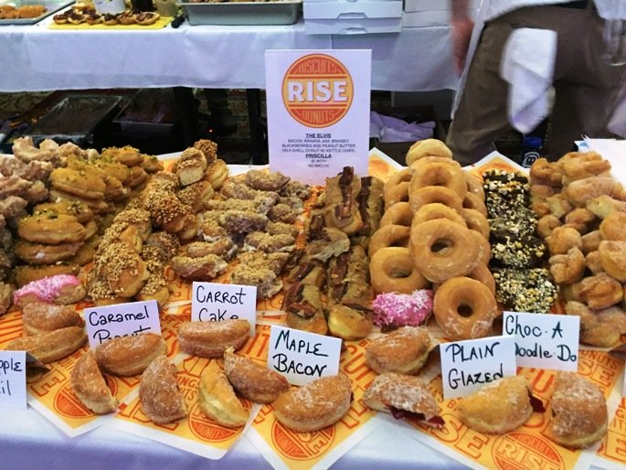 Rise display at the 2016 Toast to the Triangle in Raleigh- NC Triangle Dining