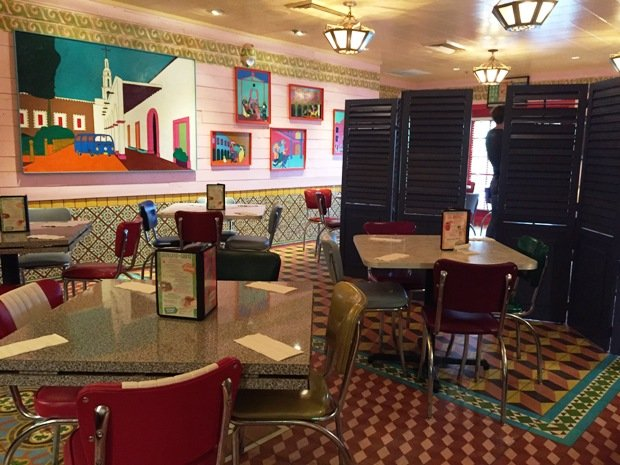 Bright and casual dining room at Chuy's in Raleigh- NC Triangle Dining