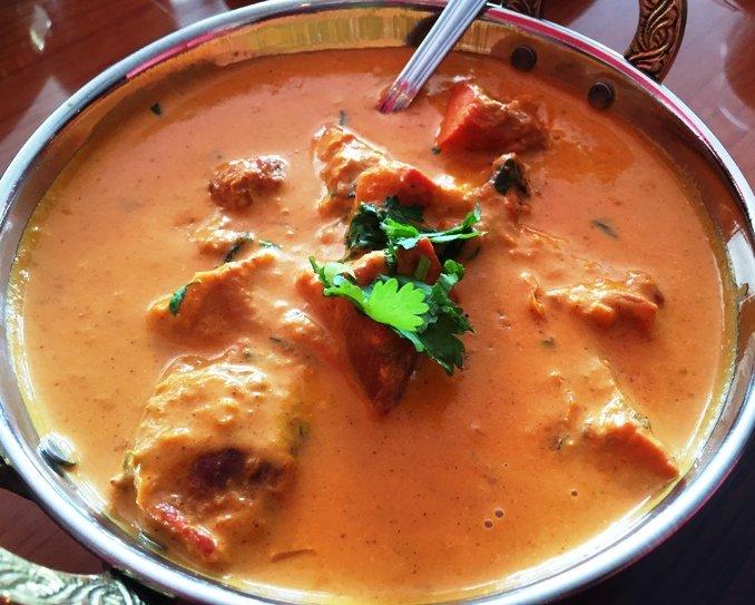 Chicken tikka masala at Himalayan Range in Cary- NC Triangle Dining