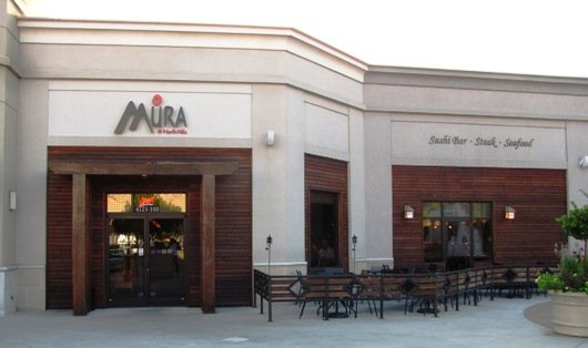 Front of Mura at North Hills in Raleigh- NC Triangle Dining