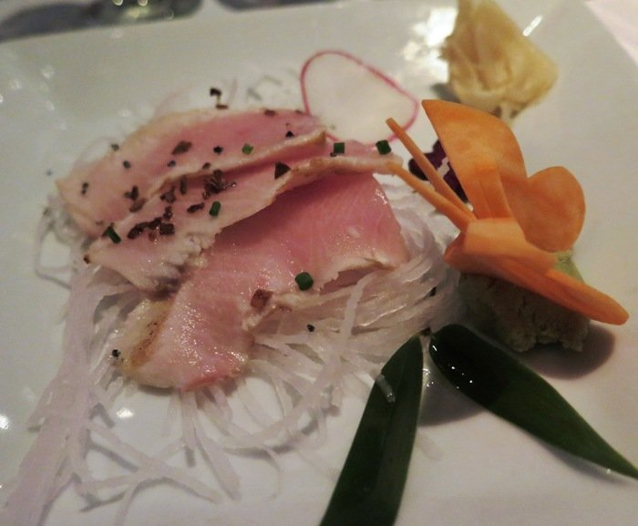 Tataki plate at Mura, North Hills in Raleigh- NC Triangle Dining
