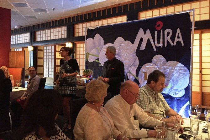 Mutual Distributing at Mura Wine vs Sake dinner, Part II in Raleigh- NC Triangle Dining