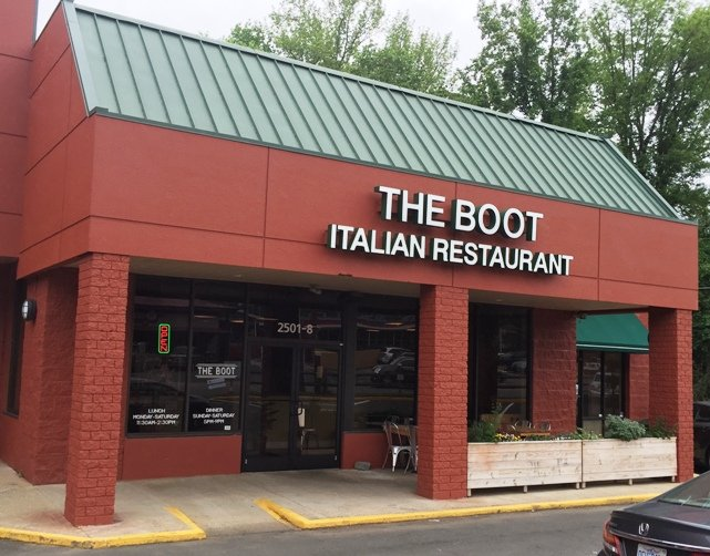 Front of the Boot in Durham- NC Triangle Dining