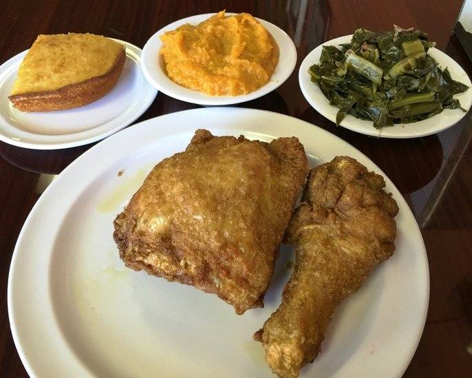 V's Southern Kitchen in RTP Durham, NC Triangle Dining