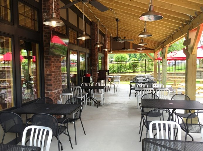 Patio at City Barbeque in Durham- NC Triangle Dining