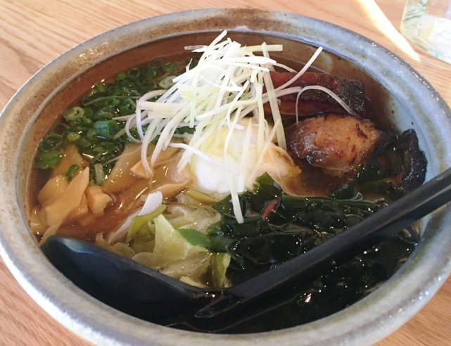 Shoyu ramen at Futo Buta in Charlotte- NC Triangle Dining