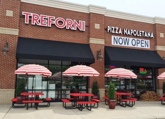 Front of Tre Forni in Durham- NC Triangle Dining