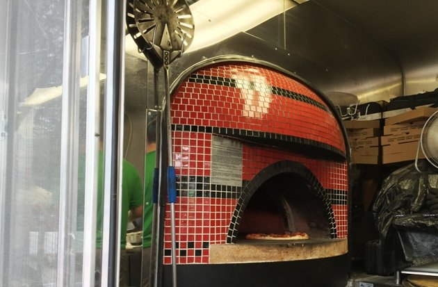 Beautiful oven at Flirting with Fire food truck based out of Durham- NC Triangle Dining