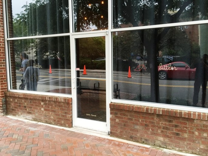 Front of Littler in Durham- NC Triangle Dining