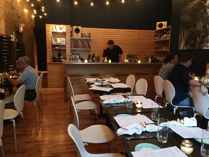 Cozy dining room at Littler in Durham- NC Triangle Dining