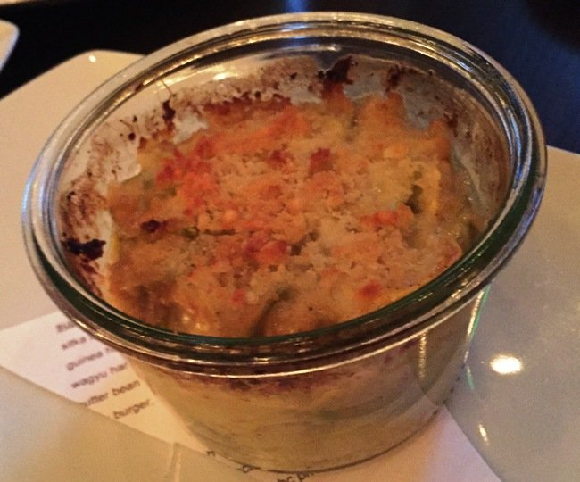 Squash au gratin at Littler in Durham- NC Triangle Dining