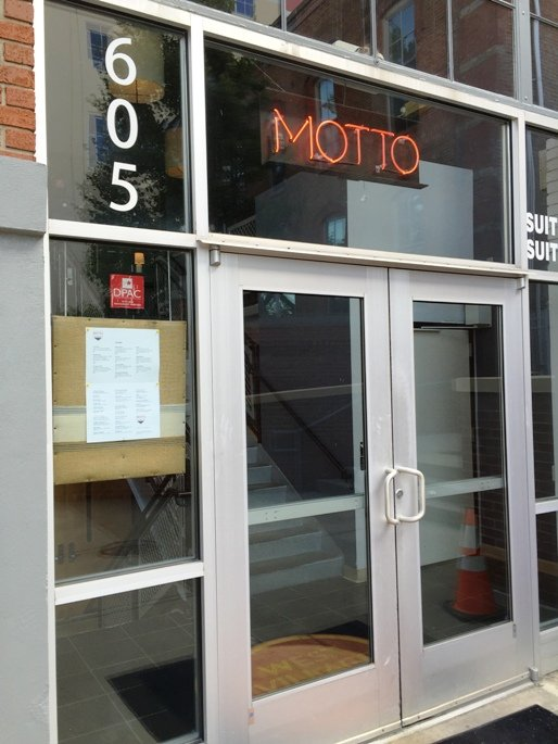 Front of Motto in Durham- NC Triangle Dining