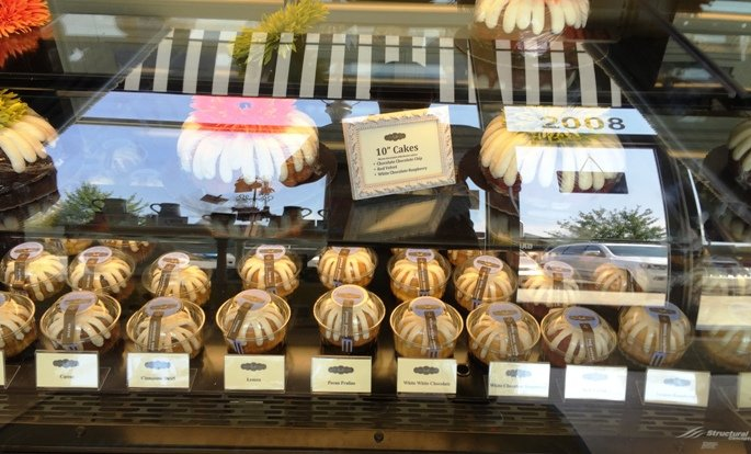Bundtlet options for Nothing Bundt Cakes in Morrisville- NC Triangle Dining