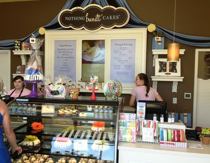 Counter at Nothing Bundt Cakes in Morrisville- NC Triangle Dining
