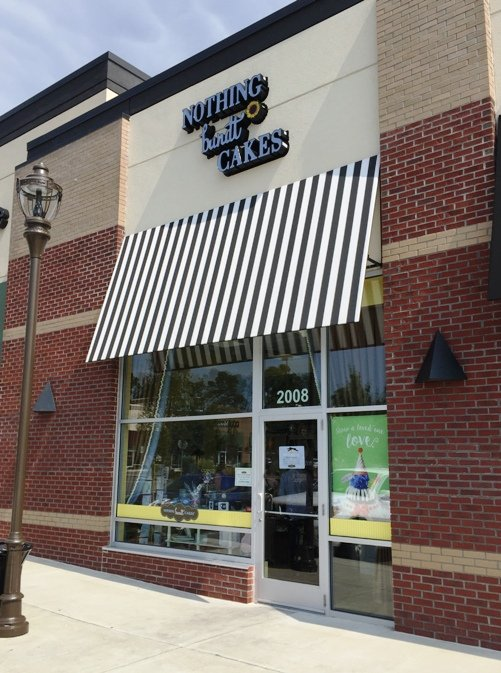 Storefront for Nothing Bundt Cakes in Morrisville- NC Triangle Dining