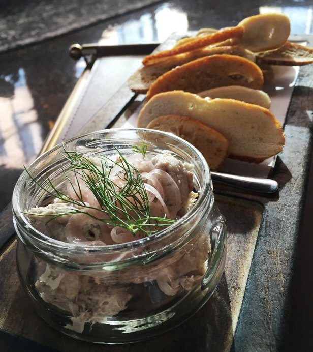 First take the new whiskey kitchen in raleigh serving it for Smoked fish dip