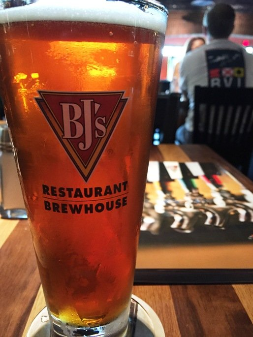 Beer at BJ's Restaurant and Brewhouse in Cary - NC Triangle Dining