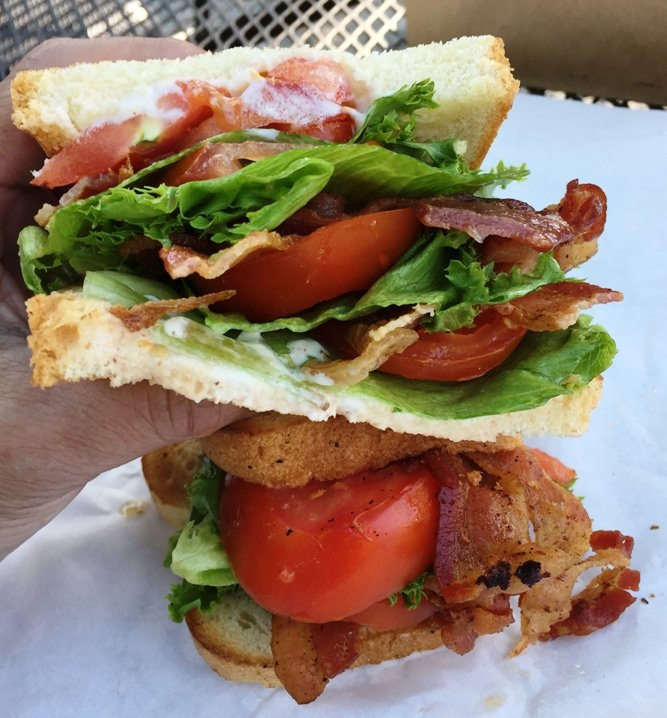 Double BLT at Merritt's Store and Grill in Chapel Hill - NC Triangle Dining