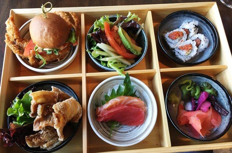 Ni bento box at City Market Sushi, Raleigh - NC Triangle Dining