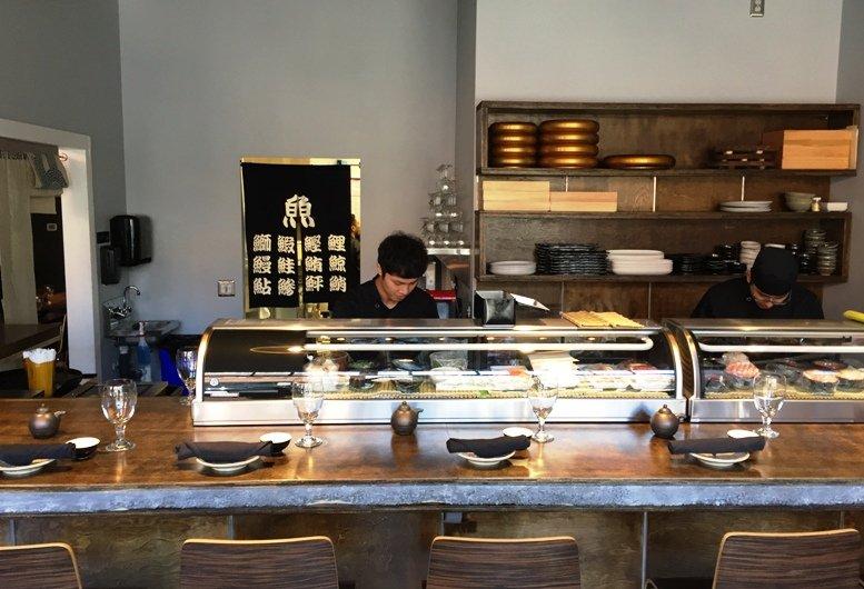 Sushi Bar at City Market Sushi, Raleigh - NC Triangle Dining