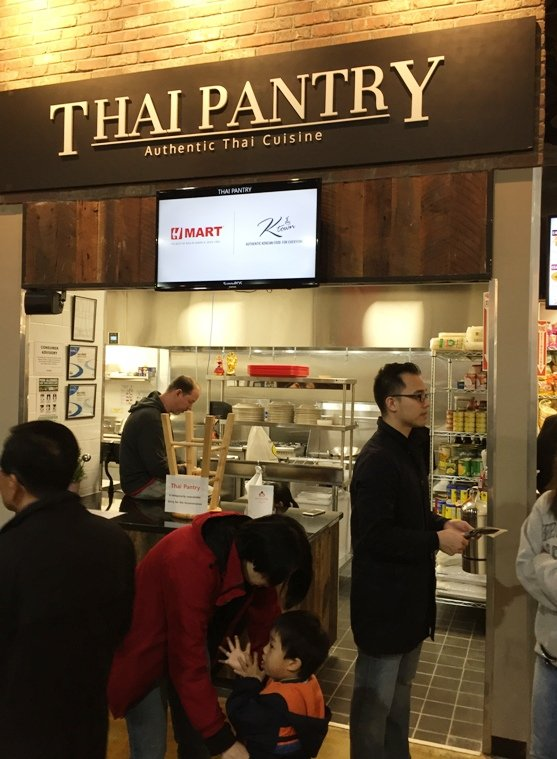 Thai area at H Mart food court in Cary - NC Triangle Dining
