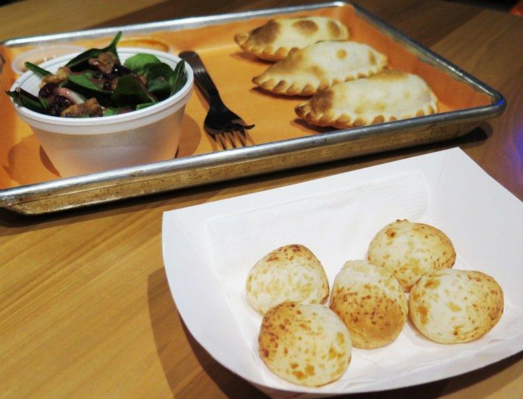 Chipa bread at at Makus Empanadas in Durham - NC Triangle Dining