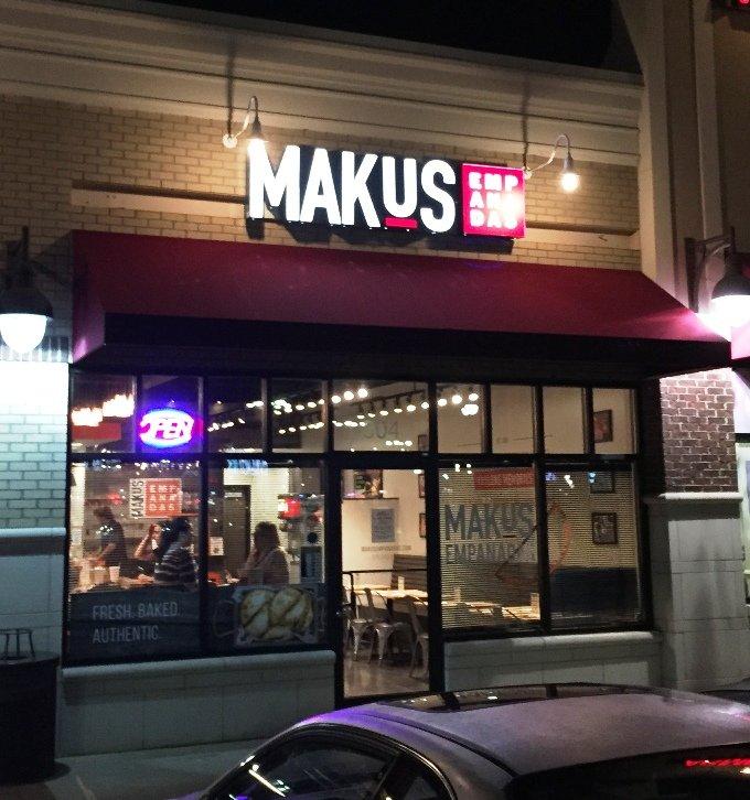 Front of Makus Empanadas in Durham - NC Triangle Dining